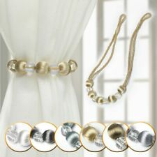 Curtain Tie Rope Curtain Tiebacks Bling Crystal Beads Curtain Decor Accessories