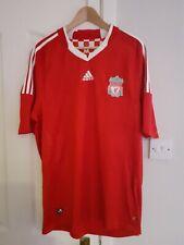 Liverpool FC Home Football Shirt Jersey Extra Large Mens 2008/2010 Adidas Rare
