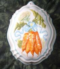 Le Cordon Bleu Franklin Mint Ceramic Jello Mold Carrots Excellent