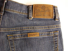 Wrangler para hombre Denim Jeans W32 \ L30, azul oscuro, 78% algodón/22% Poliéster