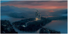 Disney Fine Art Limited Edition Canvas A Dream Coming True-Cinderella-Rob Kaz