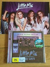 LITTLE MIX-GLORY DAYS CD/DVD EDITION-SIGNED ARTCARD PREORDER-PROOF PROVIDED