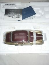 A Franklin mint scale model of a 1955 Bentley S1, boxed
