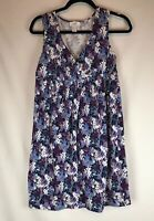 Ann Taylor Loft Women's Sleeveless Dress Size Small Floral