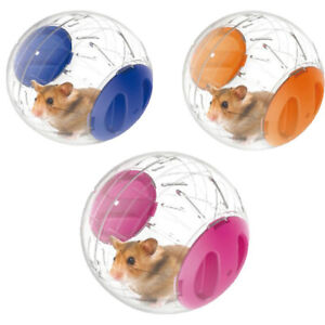 Transparent Plastic Pet Hamster Running Ball Grounder Mouse Play Toy Parts Gift