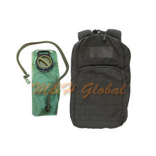New listing Molle Fuel Hydration Pack Pals Water Carrier Backpack 2.5 Liter - Black