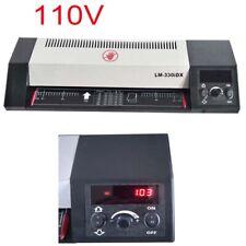 110v Electric A3 Laminator Hotampcold Laminating Machine 4 Roll Air Keep Fresh