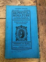 the photo - miniature . photography outdoors . july 1899