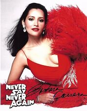 Barbara Carrera Signed 8x10 Photo - James Bond Babe - NEVER SAY NEVER AGAIN H126
