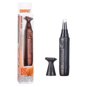 Be Bare Compact Wireless Pubic Intimate Hair Trim Rasoio Elettrico Senza Filo