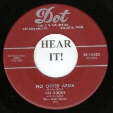 Pat Boone 45 (Dot 15422) At My Front Door/No Other Arms  VG++