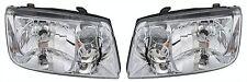 Volkswagen Jetta 99-02 Right & Left Headlights Headlamps Set Pair W/O Fog