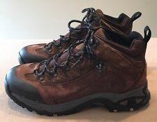 Men's Dunham Cloud 9 WP Hiking Boots Size 11.5 Wide (4E) Brown Very Good!!