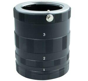 Macro Extension Tube Micro set 3 ring for Olympus PEN E-PL9 PL8 PL7 PL6 Camera