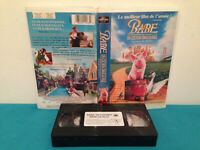 Babe pig in a city / Babe cochon dans la ville  VHS tape & clamshell case FRENCH