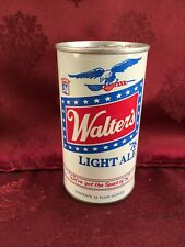 WALTERS LIGHT BiCentennial 12 oz Beer Can Walter Brewing Co 1976 with TAB