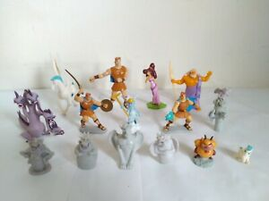 Disney's Hercules PVC Toys/Cake Toppers Lot of 15 - Made Mexico, China & Vietnam