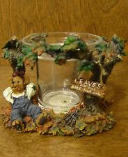 Boyds Votive #27727 Autumn Fallsbeary.Leafy Enterprises, From Retail Store Nib