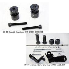 Carbon Swingarm Spools Frame Slider for 99-07 SUZUKI Hayabusa GSX 1300R GSXR1300