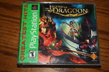 The Legend of Dragoon Playstation Great Hits 4 Disc