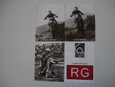 advertising Pubblicità 1977 RG e GUALDI DKW 175/ANDREINI DKW 250/PEREGO DKW 50