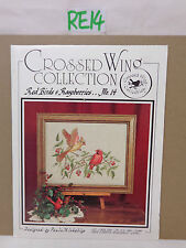 CROSS STITCH MAGAZINE BOOK PATTERNS WING COLLECTION RED BIRDS & RASPBERRIES # 14