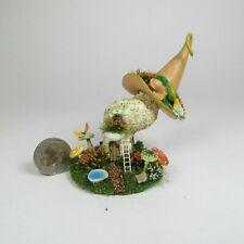 Miniature Handmade Cute Whimsical Fairy Mushroom House Ooak by O'Dare