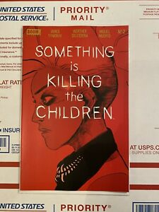 SOMETHING IS KILLING THE CHILDREN #2 BOOM 1ST PRINT Hot Book And Hard To find