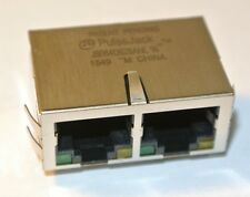 Conector J8064D628ANL 2x RJ45 F 16 pos 2.54mm 24 terminal pulso [Qty = 1 un.]