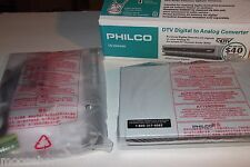 NEW PHILCO DTV Digital to Analog TV Converter Tuner  - TB100HH9 -FREE SHIPPING