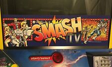 Smash TV Arcade Marquee Midway Williams Translight Header Sign Backlit