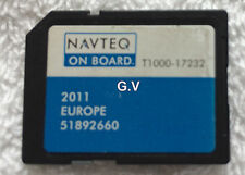 NAVTEQ T1000-17232 SAT NAV SD CARD 2011 UK EUROPE MAPS FREE POST 51892660