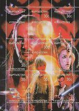 STAR WARS PHANTOM MENACE LIAM NEESON 1999 KYRGYZSTAN 1999 MNH STAMP SHEETLET
