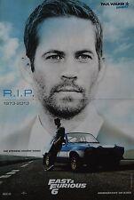 PAUL WALKER - A3 Poster (42 x 28 cm) - Fast & Furious Clippings Fan Sammlung NEU