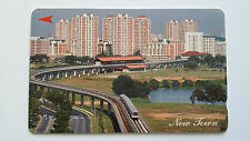 SINGAPORE PHONE CARD FAMOUS LOCAL LANDMARK NEW TOWN