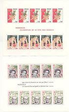 2 Blocs Feuillets MONACO N°18 + N°19 de 1980/1981