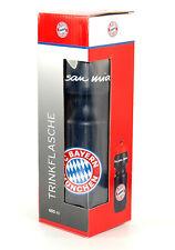 FC Bayern München, Trinkflasche 650ml, offizielles Lizenzprodukt dunkelblau