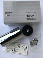 Multi Purpose ZIPPO Steel Container Pill box Key Chain bottle COLLECTABLE