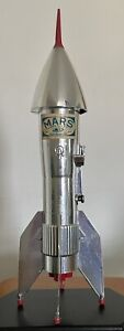 Vintage Vacuumed, Inc. Space Rocket Ship Mechanical Bank - A Berzac Creation