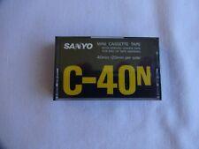 More details for  sanyo c-40n mini cassette tape - new & sealed