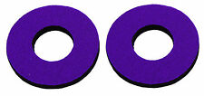Flite old school BMX bicycle grip foam donuts - VIOLET PURPLE *MADE IN USA*