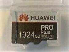SCHEDA MICRO SD 1 Tb (1024 Gb) HUAWEI CLASSE 10 SDXC U3 FOTO CAM HHD BANK