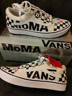 Vans x MoMA Comfycush Old Skool Men's 7.5 Women's 9 NIB w/ Tags