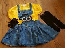 Girls SZ M Rubies Minion Costume ~NWOT~Slight Flaw~Despicable Me~