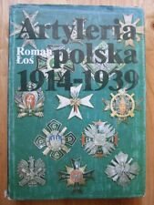 Artyleria polska 1914-1939 - Roman Los *Polish Language, Good Hardback*