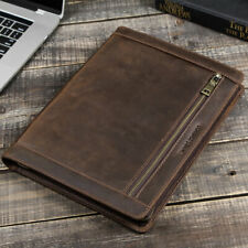 """Genuine Leather IPad Sleeve Case Hand Bag Pouch For IPad Pro&Air 10.2 10.5 11"""""""