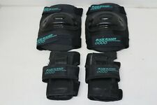 Blade Runner 0000 - Protective Gear-2 Knee Pads & 2 Hand/Wrist/Palm Pads - Lg Y
