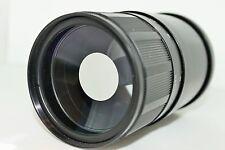 MC ZM-5SA Telephoto MTO 500 reflex lens M42 full set MC 3M-5CA Canon Nikon