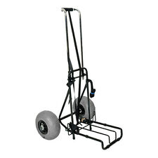 Ultimate Folding Beach Cart with Big Soft Pneumatic Wheels