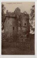INVERQUHARITY CASTLE, KIRRIEMUIR: Angus postcard (C43164)